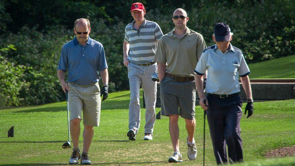 Golf society day, golf events