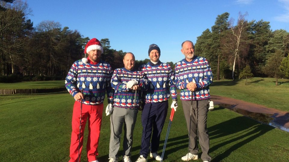 Christmas Jumper Day Fourball